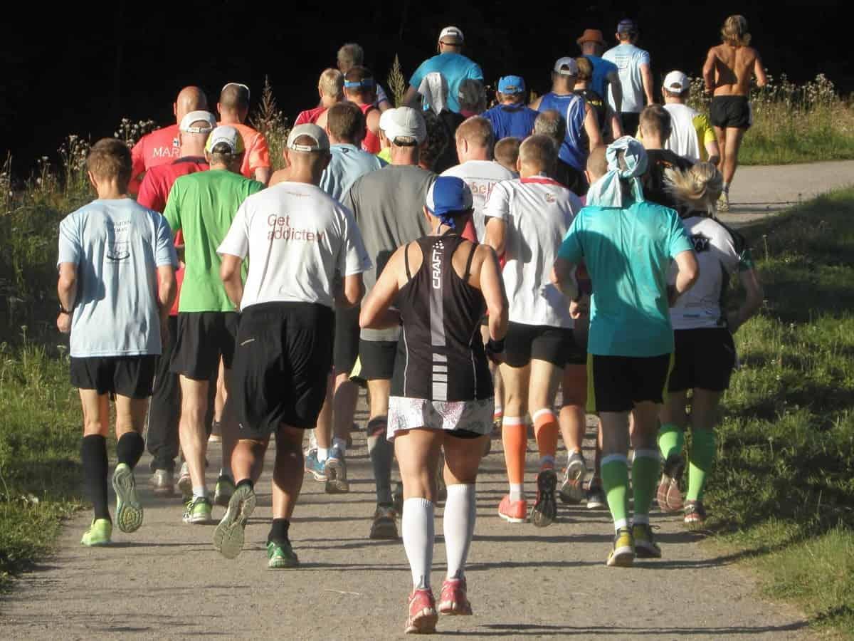 løpe maraton under 4 timer