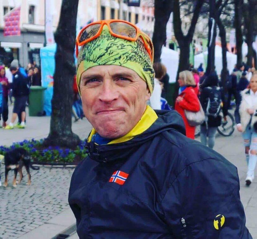 Andreas Gossner løpetrening