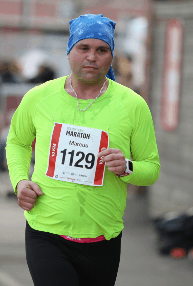 Marcus Johnsen Løpetrening