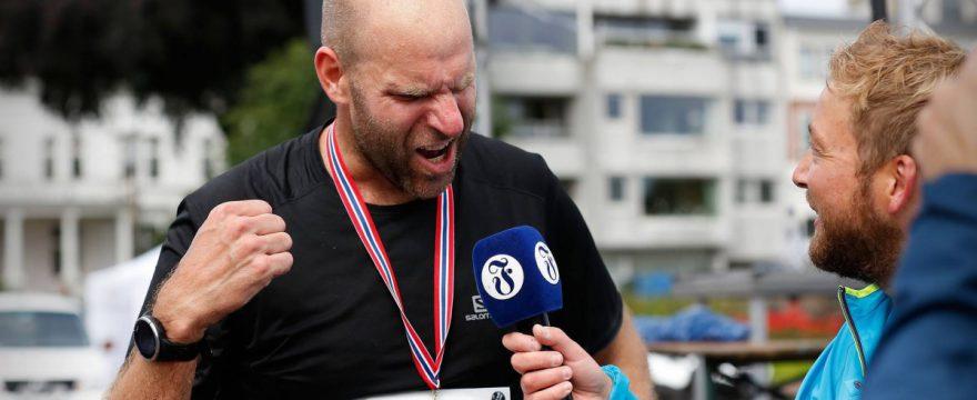 Thomas Stordalen - løpetrening