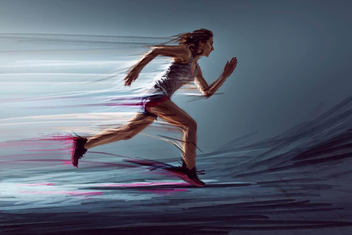 Løpetrening testløp
