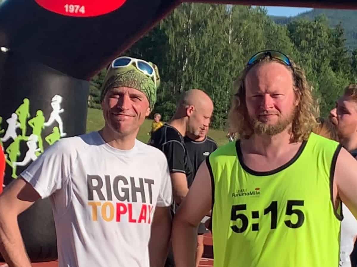 Andreas Gossner og Per Bjørnar Gundersen Bottegård