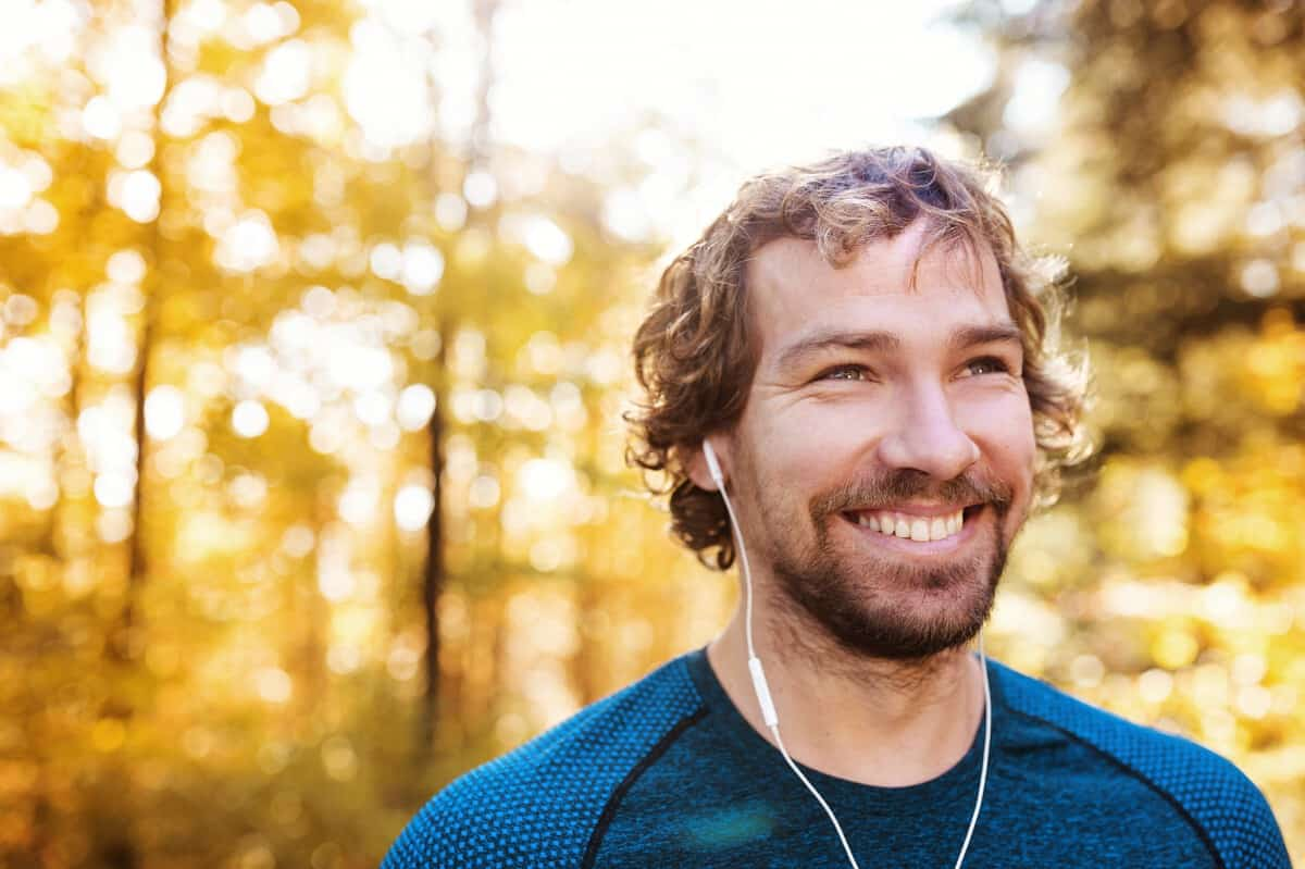 Positive tanker - det hjelper å smile. Løpetrening