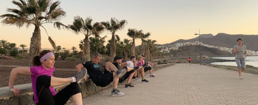 treningsleir på fuerteventura - uttøying