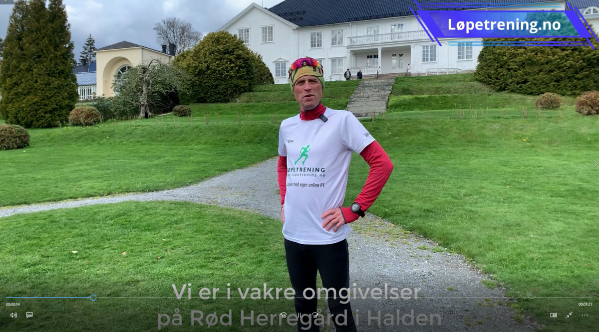 Maraton under 4 timer - ukas økt Langturen
