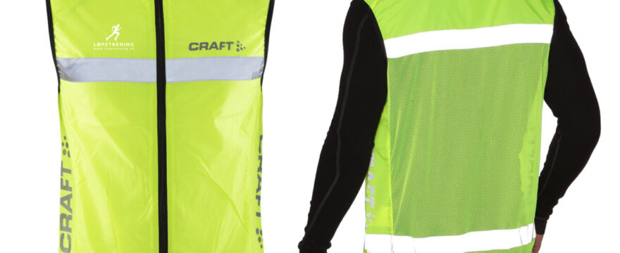 gratis craft refleksvest - Craft refleksvest - Løpetrening.no
