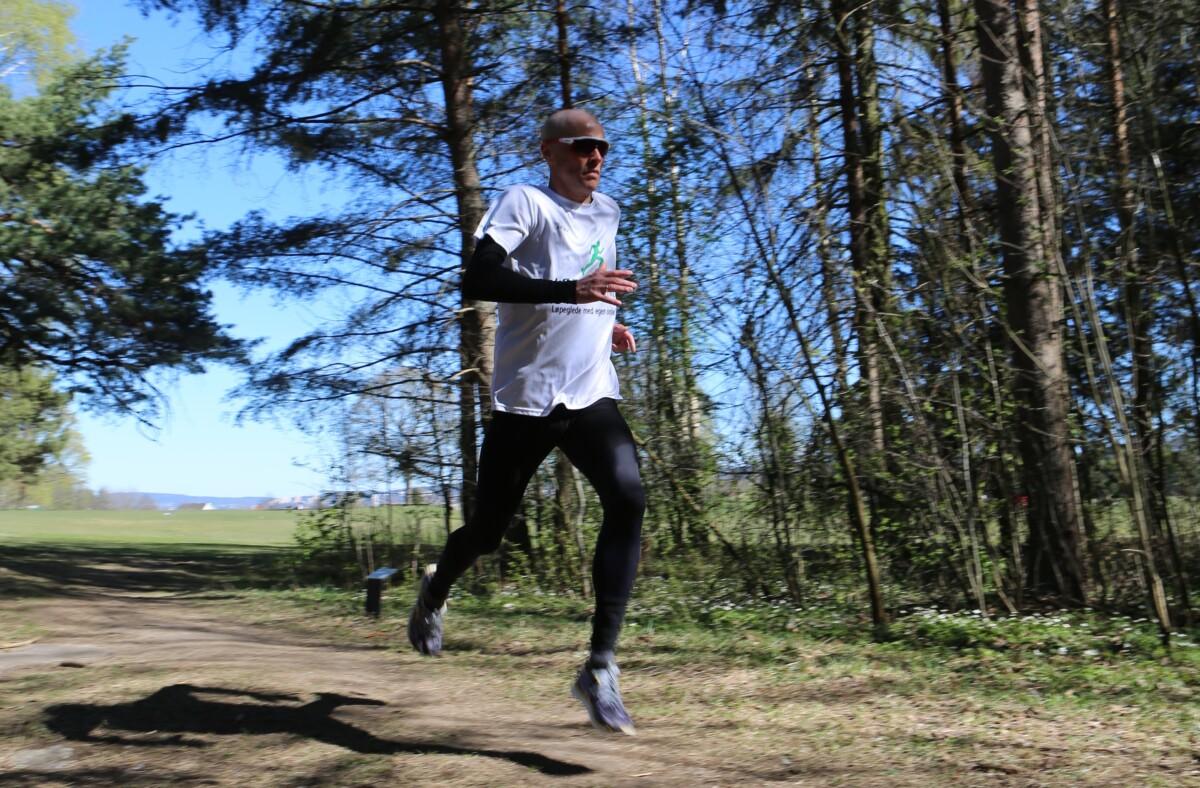Halvmaraton under 1 time og 15 minutter
