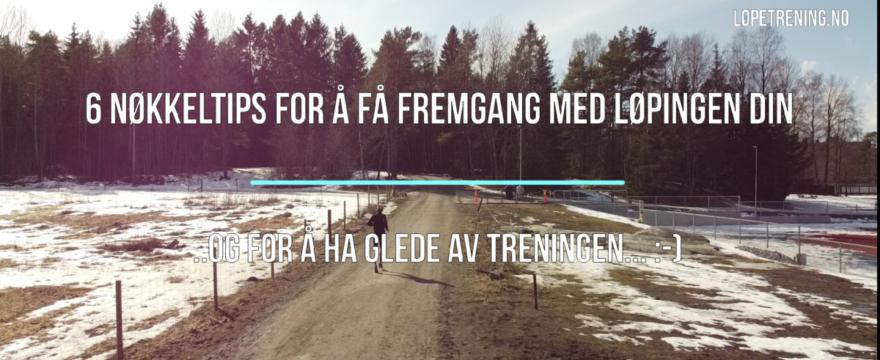 Kontinuitet i løping - Løpetrening.no