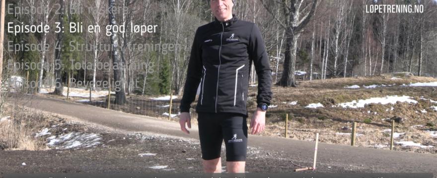 hvordan bli en god løper - løpetrening