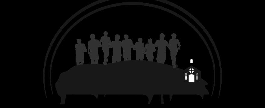BJERKETREVERN logo svart hvitt