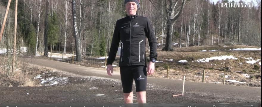 Bevegelighet for en mer elastisk løpekropp