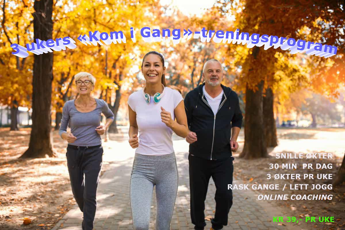 Løpeglede - kom i gang med trening