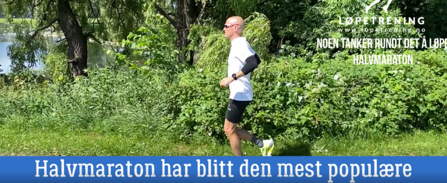Løpe halvmaraton Løpetrening.no