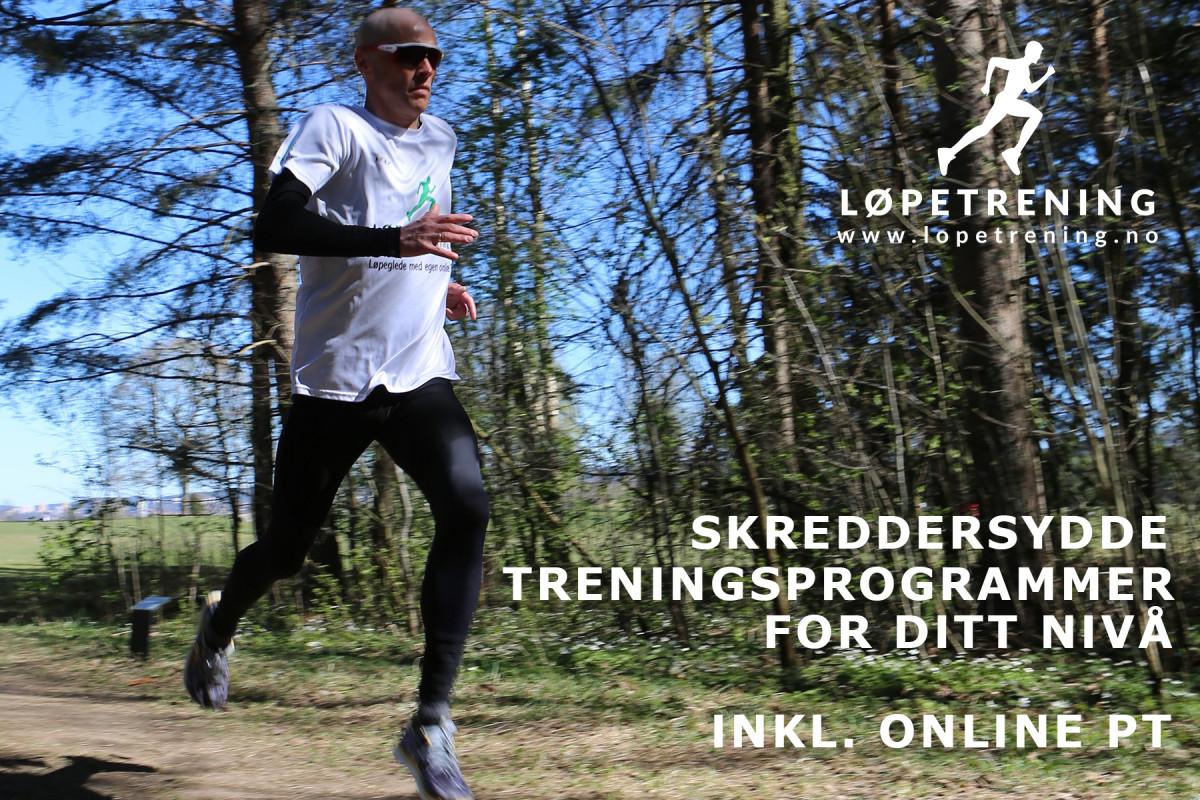 Gavekort - Andreas Gossner, Løpetrening