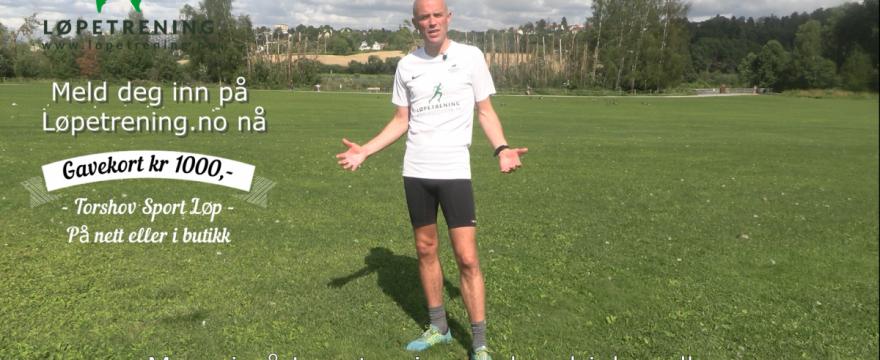 Ut Året Kampanje med gavekort på kr 1000 fra Torshov Sport Løp