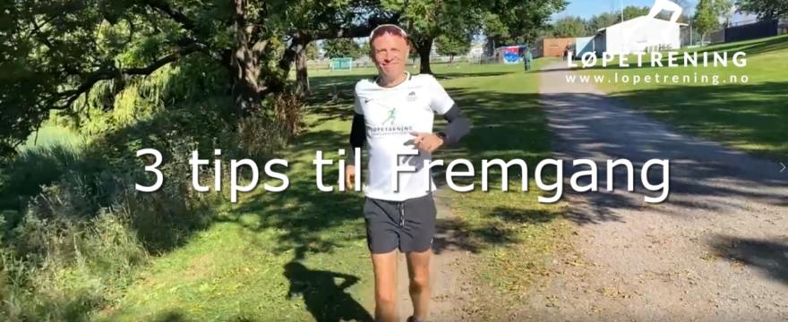 Fremgang med løpingen din - Løpetrening.no